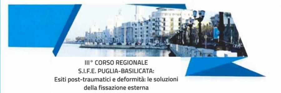III Corso Regionale S.I.F.E. PUGLIA-BASILICATA