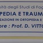 Foggia, la stampante ortopedica
