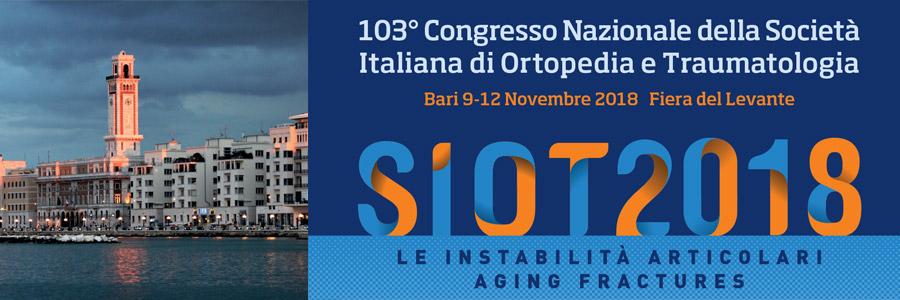 103° Congresso Nazionale della Società Italiana di Ortopedia e Traumatologia (S.I.O.T.)